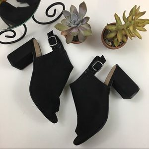 Chinese Laundry Open Tie Ankle Strap Booties